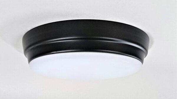 Viftebelysning Castor svart